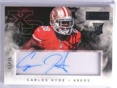 2014 Panini Playbook Carlos Hyde Rookie Autograph #D65/75 #XOSCH *70467