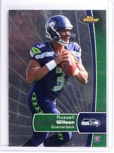 2012 Topps Finest Russell Wilson Rookie RC #140 *70812