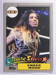 2017 Topps WWE Heritage Silver Ember Moon #D03/25 #3 *70419