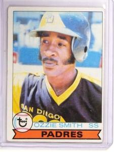 1979 Topps Ozzie Smith Rookie RC #116 VG-EX *54372
