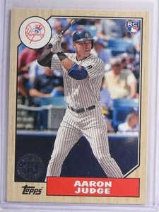 2017 Topps '87 Topps Aaron Judge Rookie RC #8758 *71257