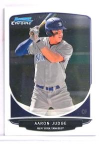 2013 Bowman Chrome Mini Aaron Judge Rookie RC #311 *71345