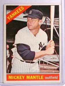1966 Topps Mickey Mantle #50 Fair *71326