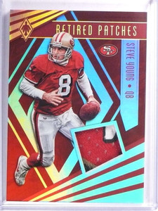 2017 Panini Phoenix Retired Patches Steve Young Patch #D08/10 #RPSY *71331