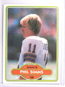 1980 Topps Phil Simms Rookie RC #225 EXMT *71458