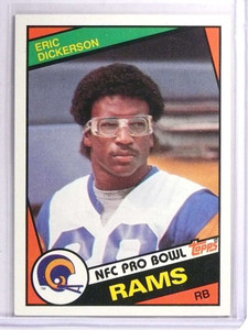 1984 Topps Eric Dickerson Rookie RC #280 *71459