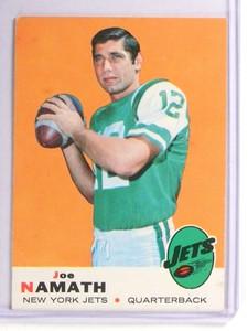1969 Topps Joe Namath #100 VG *71139