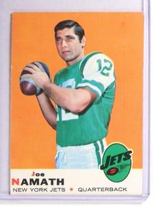 1969 Topps Joe Namath #100 VGEX *71147