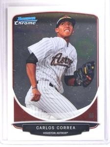 2013 Bowman Chrome Prospects Carlos Correa Rookie RC #BCP100 *71825