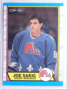 1989-90 O-Pee-Chee Joe Sakic Rookie RC #113 *65827