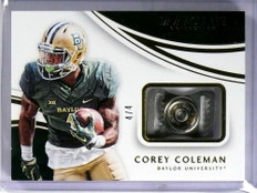 2016 Immaculate Collection Corey Coleman Chin Strap rookie rc #D4/4 *72012