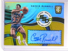 2017-18 Totally Certified Signed Sealed Gold Cazzie Russell autograph /10 *72318