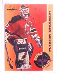 1995-96 Leaf Limited Stick Side martin Brodeur #D1539/2500 #2 *64485