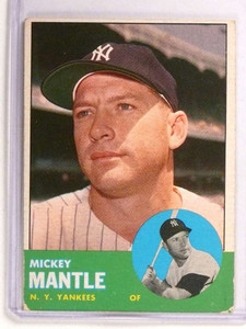 1963 Topps Mickey Mantle #200 GD-VG *72767