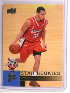 2009-10 Upper Deck Stephen Curry rc rookie #234 Warriors *72794
