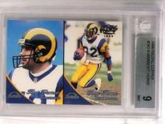 1999 Pacific Copper Kurt Warner rc rookie #D36/99 BGS 9 MINT *72725