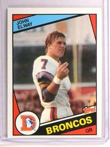 1984 Topps John Elway rc rookie #63  *72795