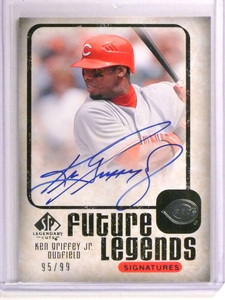 2008 Sp Legendary Cuts Future Legends Ken Griffey Jr. autograph #D95/99 *73019