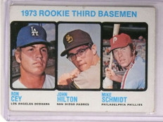 1973 Topps Mike Schmidt rc rookie #615 VG-EX *73041