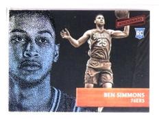 2016-17 Panini Aficionado Ben Simmons rc rookie #35 *73321