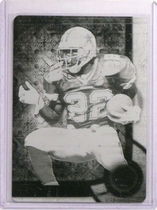 2015 Topps Triple Threads Emmitt Smith Black Printing Plate #D 1/1 *73292