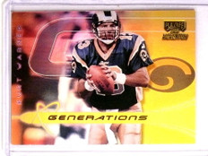 2000 Playoff Momentum generations Gold Kurt Warner #D20/50 #GN-19 *73359