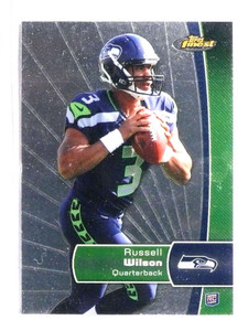 2012 Topps Finest Russell Wilson rc rookie #140 *73319
