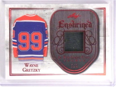 2018 Leaf In The Game Used Sports Enshrined Wayne Gretzky jersey #D1/3 *73264