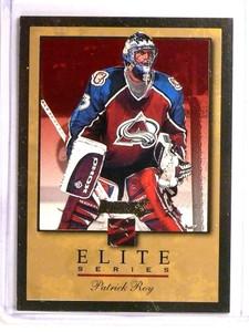 1996-97 Donruss The Elite Series Inserts Gold Patrick Roy #D774/2000 #10 *73325