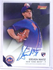 2015 Bowman's Best Steven Matz Best of '15 Rookie RC Autograph Auto Mets *74212