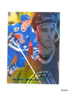 2012-13 Fleer Retro Flair Showcase Joe Sakic Row 2 Legacy #d95/150 *44149