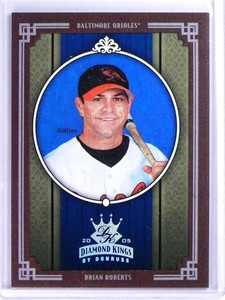2005 Daimond Kings Framed Red Platinum Brian Roberts #D1/1 #33 *75655