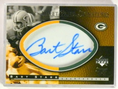 2004 Sweet Spot Panel Signatures Bart Starr autograph auto #D04/80 Packers *76904
