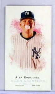 2006 Topps Allen Ginter Alex Rodriguez Mini EXT #352 sp! *78489