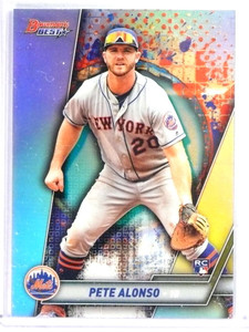 2019 Bowman's Best Refractor Pete Alonso Rookie RC #32 *80132