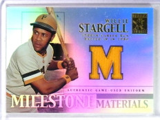 2002 Topps Tribute Milestone Materials Willie Stargell Jersey #MIMWS *80451