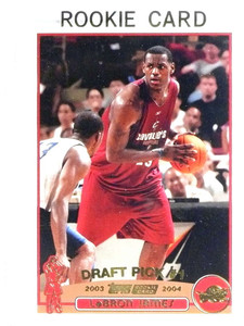 2003-04 Topps Collection Lebron James rc rookie #221 NM *80728