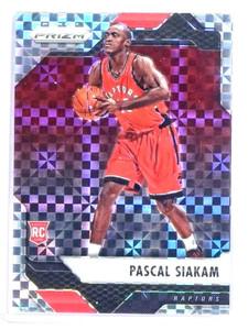 2016-17 Panini Prizm Starburst Pascal Siakam rc rookie #220 *80756