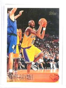 1996-97 Topps Kobe Bryant rc rookie #138 Lakers *80740