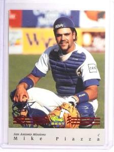 1992 Classic Best Mike Piazza Red Bonus #BC16  *52574