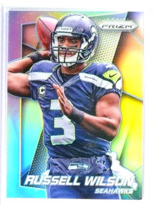 2014 Panini Prizm Silver Parallel Russell Wilson #138 Seahawks *81019