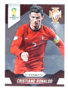 2014 Panini Prizm World Cup Soccer Cristiano Ronaldo #161 Portugal *81006