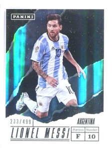 2017 Panini Father's Day Soccer Lionel Messi #D233/499 #LM *81024