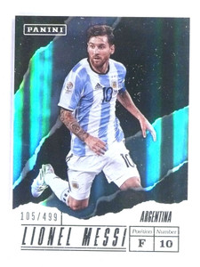 2017 Panini Father's Day Soccer Lionel Messi #D105/499 #LM *81025
