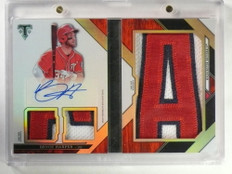 2016 Topps Triple Threads Bryce Harper autograph auto patch book #D 1/1 *81343
