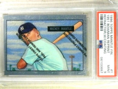 1996 Topps Mantle Finest Mickey Mantle 1951 Reprint #1 PSA 9 MINT *84185