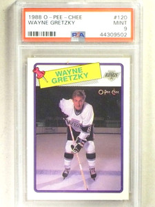 1988-89 O-Pee-Chee OPC Wayne Gretzky #120 PSA 9 MINT Kings *84165