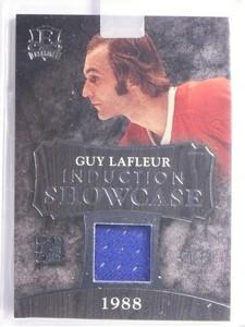 2016 Leaf Enshrined Induction Showcase Guy Lafleur jersey #D27/35 *55736