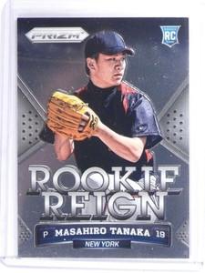 2014 Panini Prizm Masahiro Tanaka Rookie Reign RC #13 *49830