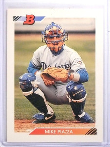 1992 Topps Bowman Mike Piazza Rookie #461 *59825